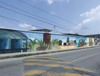 Se promueve arte urbano en lugares emblemáticos de Guatemala
