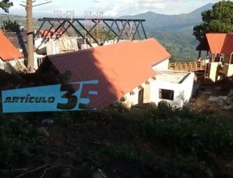 Una finca y una carretera de Q58 millones para la familia de Giammattei