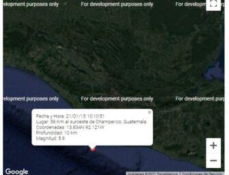 Fuerte sismo sacude parte de Guatemala, estos son los detalles