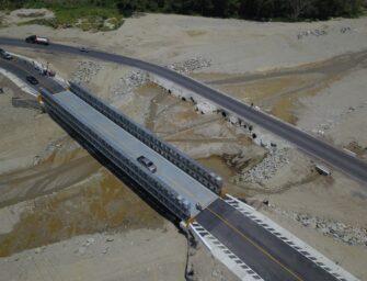 Habilitan puente tipo Bailey tras paso de Eta e Iota