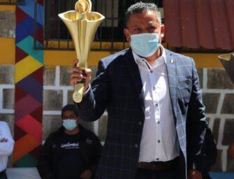 La antorcha del Bicentenario recorre Guatemala