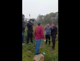 Gobernación se expresa tras video en donde agreden a agentes de la PNC