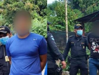Operativos permiten capturar a presuntos violadores